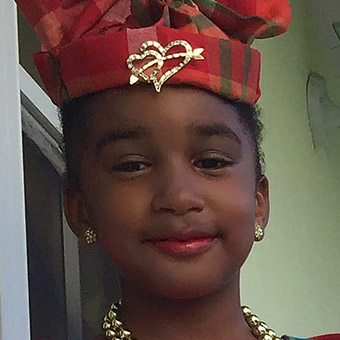 Ariah Kobie from Dominica