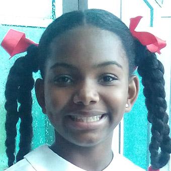 Gabriella Lewis from Trinidad