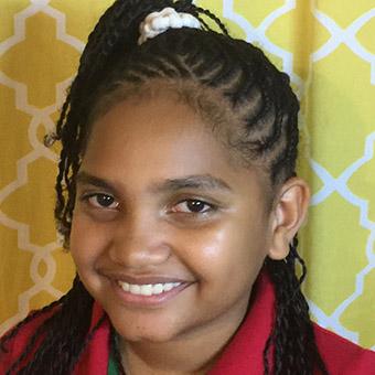 Kassie Haley-Shai from Montserrat
